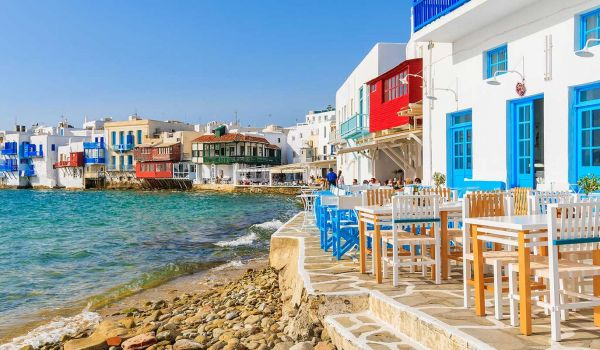 6 Days Athens - Mykonos - Athens Honeymoon or Holiday Package
